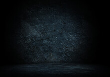 Dark And Mysterious Wooden Background Perfect Natural Black Background 3d Rendering