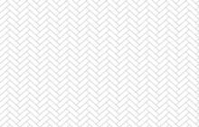The Herringbone Pattern Isolate On White Background Vector.