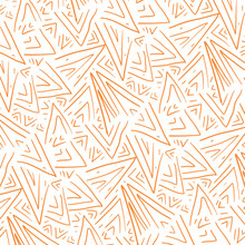 Hand Drawn Seamless Pattern Black And White, Colour Full Pattern Interior, Decoration, Wallpaper, Pattern Product