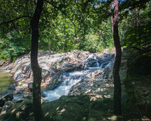 Waterfall In Chewacla State Park