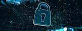 Fototapeta Zwierzęta - Estructura de datos y herramientas de información para la creación de redes de negocios y la seguridad cibernética. Análisis del volumen de datos y la industria de la informática.