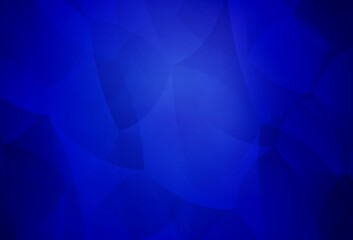 Dark BLUE vector layout with lines, triangles.