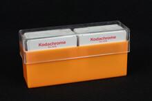 Bandung, Indonesia - December 21, 2020.  Vintage Kodak FIlm.