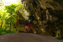 Kuhakaruhat Pavilion In The Phraya Nakhon Cave At Prachuap Khiri Khan, Thailand.