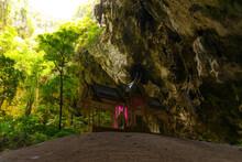 Kuhakaruhat Pavilion In The Phraya Nakhon Cave At Prachuap Khiri Khan, Thailand.