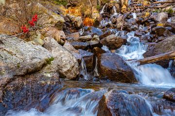 Cascada de la Ratera, Aiquestortes i Estany de Sant Maurici National Park, Catalonia, Spain