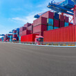 Container terminal. Freight transport.