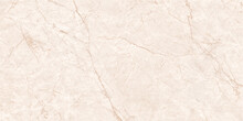 Marble Cream Texture Pattern With High Resolution For Tiles