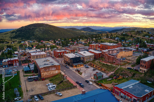 Photo Victor is an antique mining Town adjacent to a large Gold Mine in the Colorado R