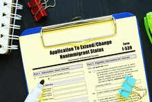 Form I-539 Application To Extend/Change Nonimmigrant Status