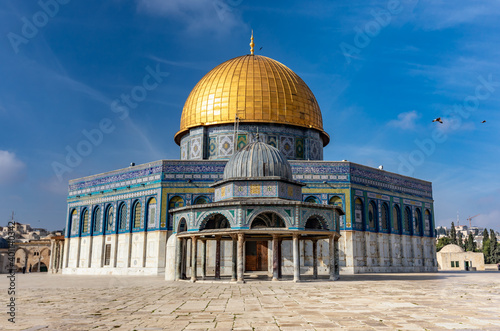 Fotografie, Obraz Al-Aqsa Mosque, Temple Mount Jerusalem, Dome of the Rock
