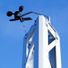 Rotating Instruments That Measure Wind Speed And Strength
