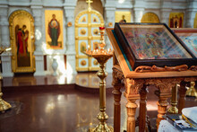 Orthodox Church And Icons. Religious Traditions