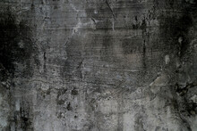 Black And White Concrete Old Grey Wall Texture Background , Featuring Textured Detailing Concrete Walls The Deep Gray Tint Of The Old Concrete Walls.