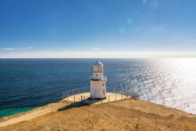 Lighthouse, Cape Meganom. City District Sudak, The Republic Of Crimea