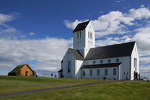While This Stark White Church In Skalholt Is Less Than 60 Years Old, Similar Buildings Have Been Here Since One Of Iceland's First Two Bishoprics Was Founded On The Site In 1056.