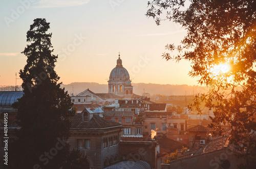 Tela Sunset in Rome, Italy