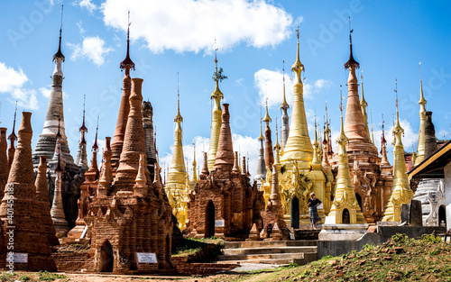 Photographie temples in burma