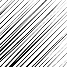 Abstract Pattern With Black Oblique Stripes. Optical Art. Vector Illustration. Ideal For Prints, Abstract Background, Posters, Tattoo And Web Design