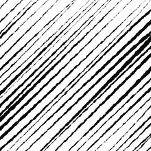 Abstract Pattern With Black Oblique Grunge Stripes. Optical Art. Vector Illustration. Ideal For Prints, Abstract Background, Posters And Web Design
