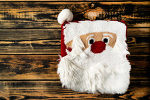 Christmas Sweater On The Wooden Background