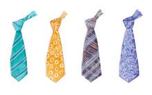 Watercolor Tie Set