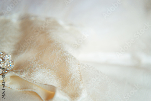 Canvas Christening clothes for girl