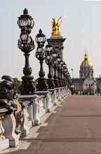 Pont Alexandre III In Paris France