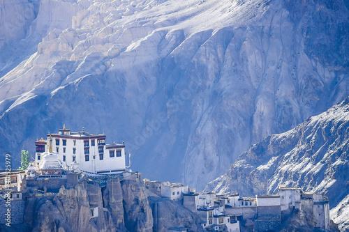 Fototapeta Lamayuru Monastery, Ladakh, Buddha, Tibetan Buddhism, Buddhist deities, Tibetan