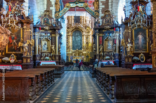 Fototapeta Cracov, architectures and tradition obraz