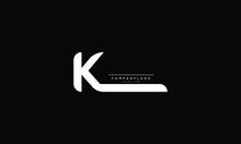 K Abstract Initial Monogram Letter Alphabet Logo Design