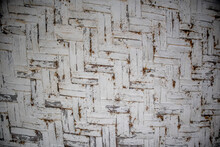 Photo Of White Woven Bamboo Wall