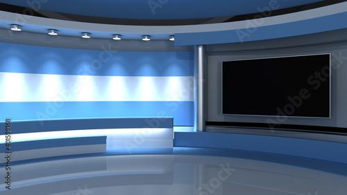 Stampa su Tela TV studio