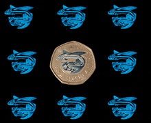 'Glow In The Dark' Barbados  Dollar Coin To Honour Frontline Workers
