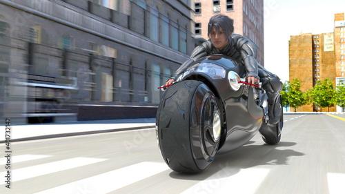 Fotografie, Tablou バイク