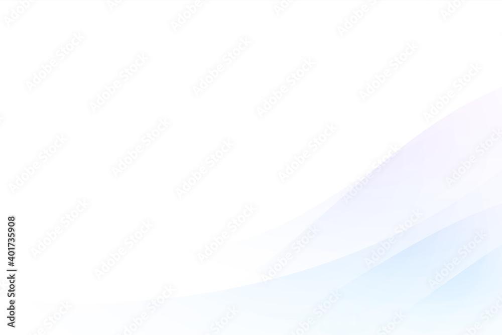 Fototapeta ウェーブの背景 Abstract wave background