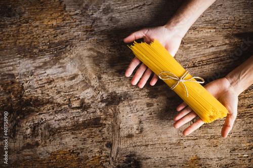 Obraz na plátně Dieta della pasta asciutta