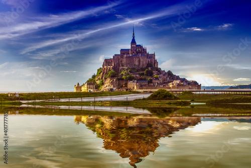 Fotografie, Obraz Mont Saint Michel.