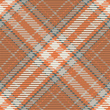 Seamless pattern of scottish tartan plaid. Repeatable background with check fabric texture. Vector backdrop striped textile print. - 401790751