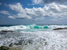 Colors Of Ocean Surf