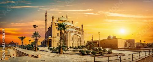 Obraz na plátně The Mosque of Muhammad Ali