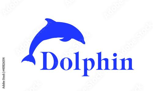 Photo Logo of the black sea bottlenose Dolphin