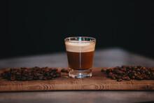 Expresso Avec Grains De Café
