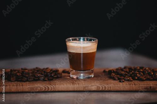 Fotografija Expresso avec Grains de Café