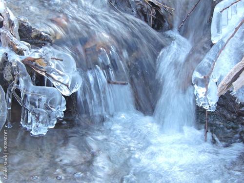 Strumyk Potok Górski w Lodzie