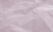 Perfect Plum Colored Crumpled Paper Texture Background For Design, Decorative.