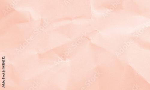 Fotografie, Obraz soft pink colored crumpled paper texture background for design, decorative