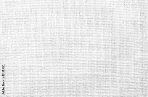Old retro white cloth linen fabric textile texture wallpaper background - fototapety na wymiar