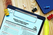 Form I-485 Application To Register Permanent Residence Or Adjust Status