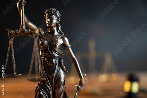 Photo Law and justice concept